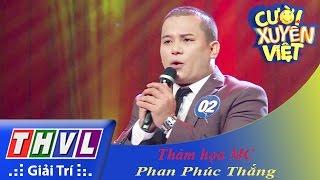 THVL | Cười xuyên Việt 2015 - Tập 9 | Vòng chung kết 7: Thảm họa MC - Phan Phúc Thắng