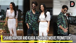 Kabir Singh | Shahid Kapoor and Kiara Advani at Movie Promotions