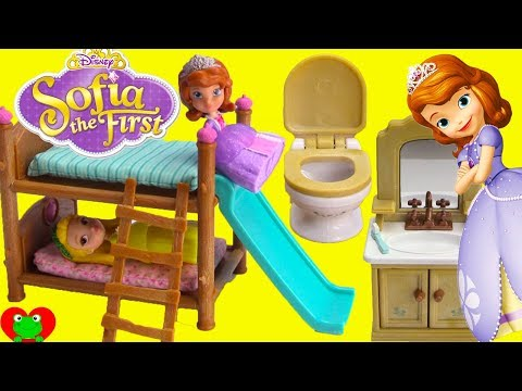 Disney Princess Sofia The First And Amber Bedtime Routine And Bunk Beds Mp3
