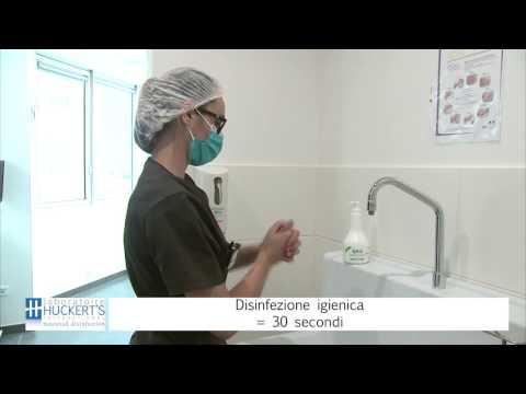 Disinfezione igienica delle mani (IT)