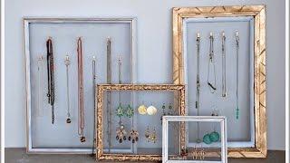 DIY- Pretty Necklace Display