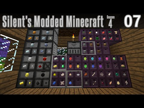 Silent's Modded Minecraft - S4E07 - Organizing with Drawers