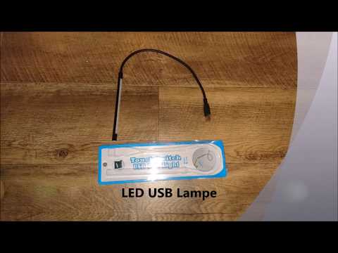USB LED-Lampe !!TEST!!