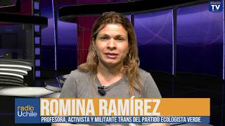 Romina Ramírez: Escolaridad trans como demanda del movimiento feminista