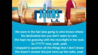 Jonas Brothers - Drive (Lyrics)