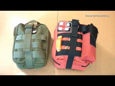Gecheckt: IFAK- Pouch aus China, Individual First Aid Kit Erste-Hilfe-Set mit Molle