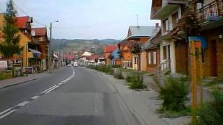 preview picture of video 'Krościenko nad Dunajcem'