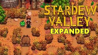 Stardew Valley Expanded Mod - Aurora Vineyard Quest