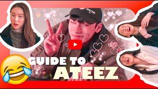 ATEEZ (에이티즈) HELPFUL GUIDE REACTION!!