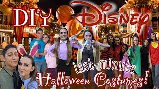 Last-Minute DIY Disney Halloween Costumes! | Solo, Group, & Couple