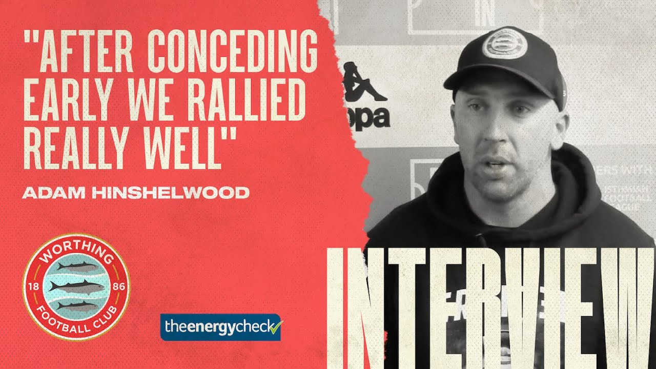 """Thumbnail for Hinshelwood: """"After conceding early we rallied really well"""""""