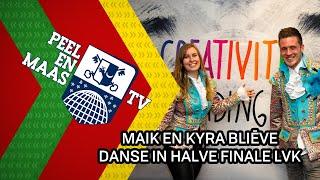 Maik en Kyra bliēve dansen in halve finale LVK - 19 januari 2021 - Peel en Maas TV Venray