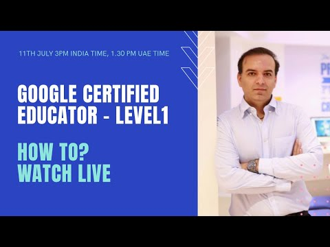 Google Certified Educator - Level 1 - This is what you can expect on ...