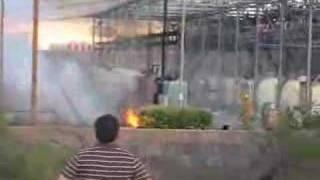 preview picture of video 'Accidente en subestacion norte CFE Nogales Sonora'