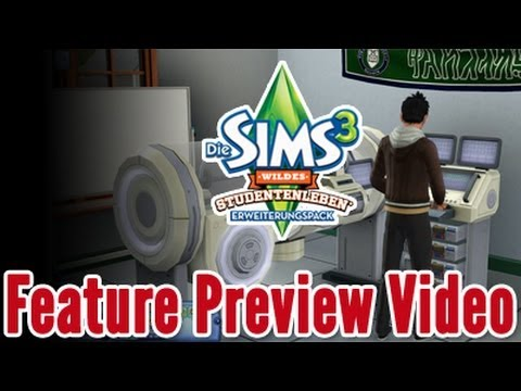 Die Sims 3 Wildes Studentenleben - Feature Preview Video
