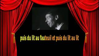 Karaoké Jacques Brel   Les vieux