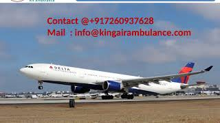Top and Best Air Ambulance Service in Jamshedpur and Bokaro by King