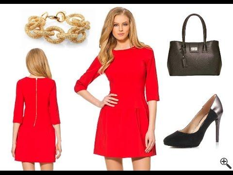Kurze enge Kleider - Schöne Outfit Ideen in Rot