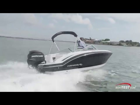 2016 Chaparral 210 Sun Coast 21′ Outboard Deck Boat – Test Report