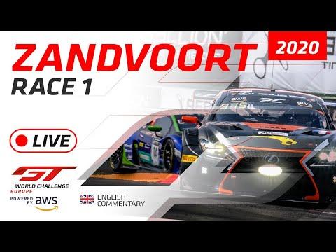 2020年 ブランパンGTワールドチャレンジ(ザントフールト)レース1ライブ配信動画