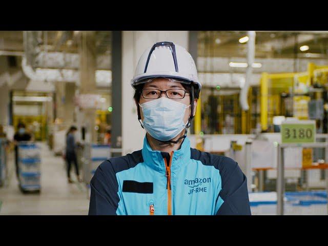 Amazonで働くということ 松井章雄(60秒CM)