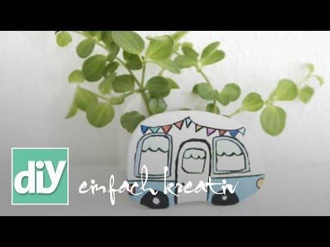 Wohnmobil-Übertopf | DIY einfach kreativ