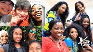 KCON LA Day 2 - Squad, Grapefruit Soju & DEAN! | Abi Abroad
