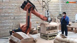 Ứng dụng cánh tay Robot hiện đại hoá sản xuất, dịch vụ cho thuê rotbot tại #Fuvico