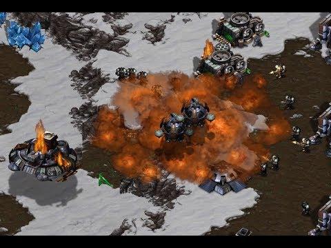 2v2 SNOW MAP!  ZZ v ZT on Avalon - StarCraft - Brood War REMASTERED