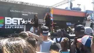 Jordin Sparks BET Experience Live 2015