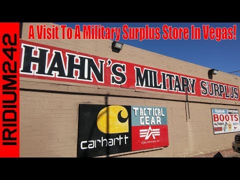 A Visit To A Military Surplus Store In Vegas