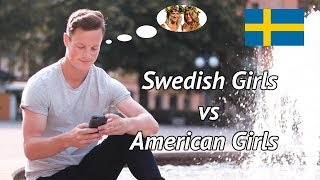 American vs Swedish Girls