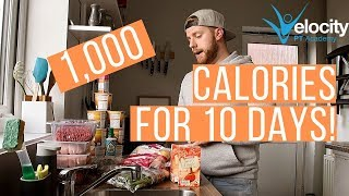 1000 CALORIES A DAY FOR 10 DAYS | Serious weight loss!
