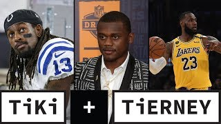 T.Y Hilton, Deandre Baker's future, and Unfair NBA pay schedule | Tiki + Tierney