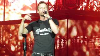 """Dierks Bentley """"What The Hell Did I Say"""" Live @  The BB&T Pavilion"""