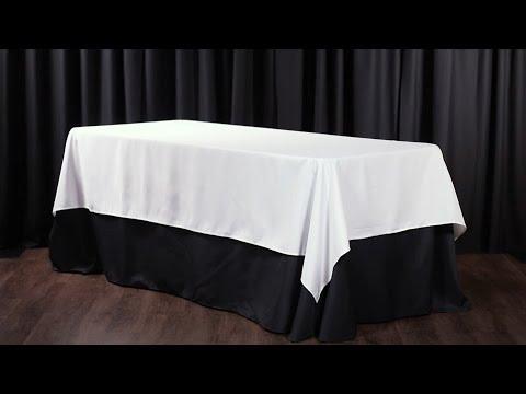 Mantel Redondo y Rectangular Dimensionamiento