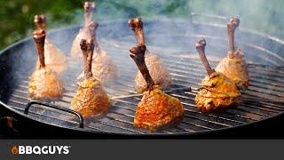 Smoked Lollipop Chicken w/ Mango Habanero Sauce Recipe | Weber Kettle Grill | BBQGuys