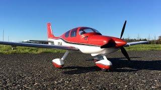 E-flite UMX Cirrus SR22T BNF Basic with SAFE Select Second Flight