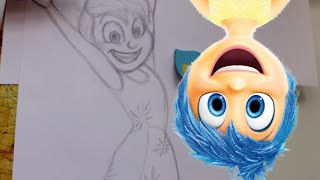 How To Draw JOY From Pixar's Inside Out- @DramaticParrot