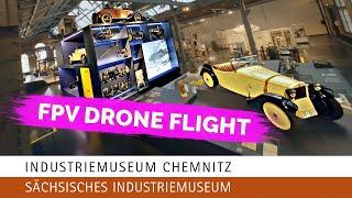Industriemuseum Chemnitz - SAXON MUSEUM OF INDUSTRY (Cinematic FPV Cinewhoop Drone Video)
