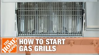 How to Start a Gas Grill | The Home Depot