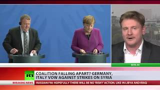 Germany, Italy, Netherlands & Canada vow not to strike Syria, call for thorough investigation - Video Youtube