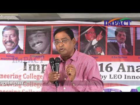 Career Guidance | Suresh |TELUGU IMPACT Anantapur 2016