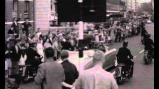 Yuri Gagarin visits Britain after space journey