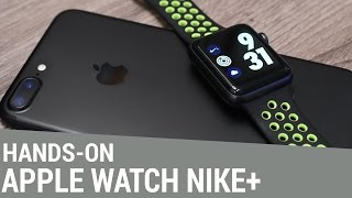 Apple Watch Series 2 Nike+ Edition - Hands-On & Unboxing