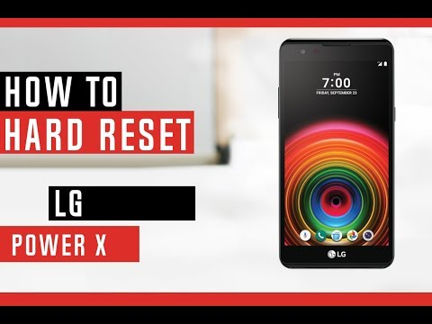 How To Factory Reset K30