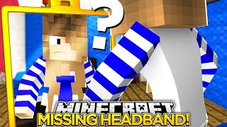 Minecraft Adventures-LITTLE CARLY LOSES HER FLOWER HEADBAND!