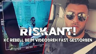 Riskant: KC REBELL So Hart War Sein Videodreh | KC REBELL Unter Wasser Making Of