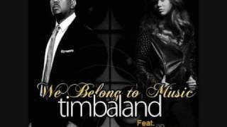 Timbaland (feat. Miley Cyrus)- We Belong To Music (Karaoke/Instrumental)