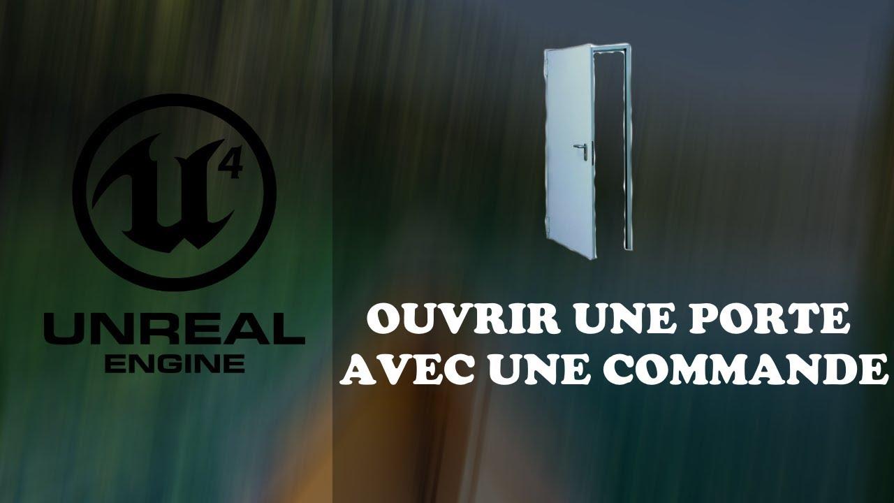 OUVRIR UNE PORTE COMME DANS FORTNITE - UE4 TUTO FR